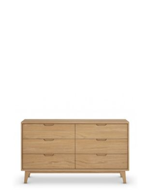 Nord Wide 6 Drawer Chest
