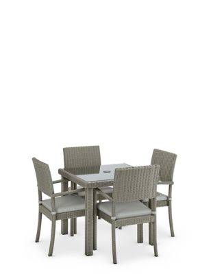 Marlow Square 4 Seater Garden Table & Chairs
