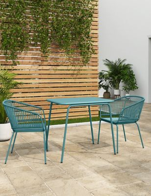 Lois 2 Seater Balcony Table & Chairs