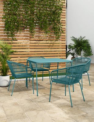 Lois 4 Seater Garden Table and Chairs