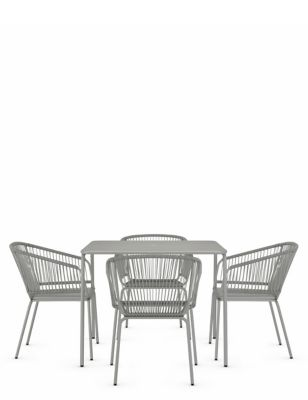 Lois 4 Seater Garden Table & Chairs
