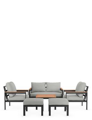Porto 6 Seater Garden Furniture Set