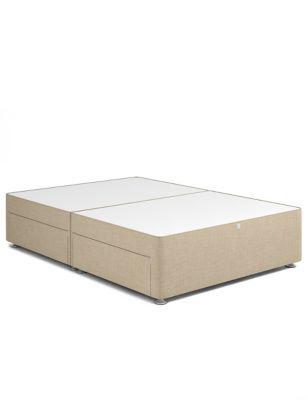 Classic firm top  2 drawer divan