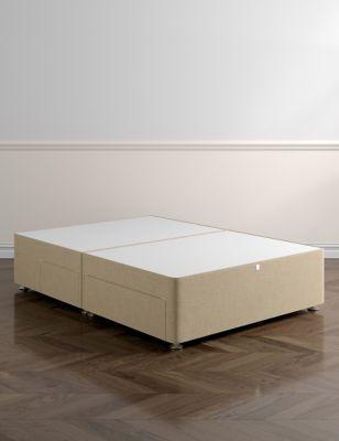 Classic firm top 2+2 drawer divan