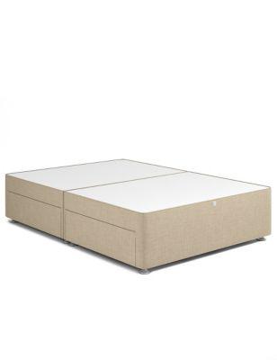 Classic firm top 4 drawer divan