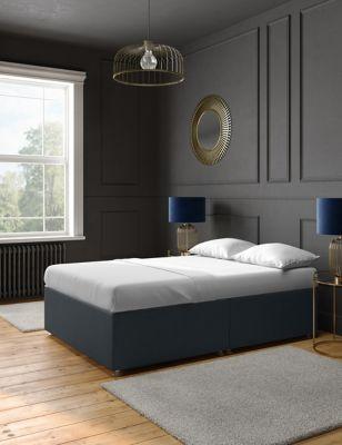 Classic sprung non storage divan