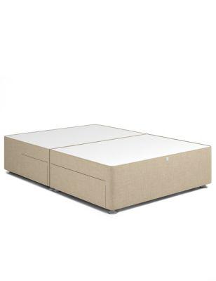 Classic sprung 2+2 drawer divan