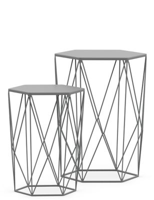 Wire Nest of Tables