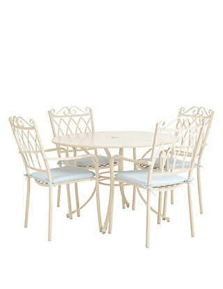 . Rosedale Table   4 Chairs   Cream   M S