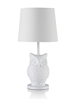 Boho owl table lamp ms mozeypictures Choice Image