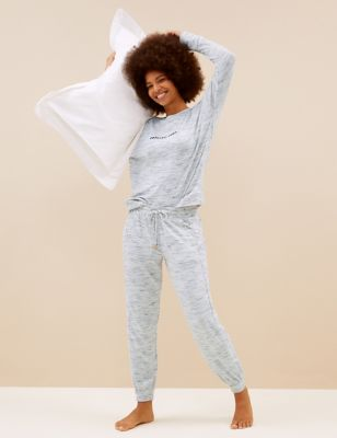Cosy Knit Lounge Relaxez-vous Sweatshirt Set