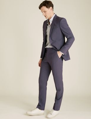 The Ultimate Charcoal Slim Fit Wool Suit