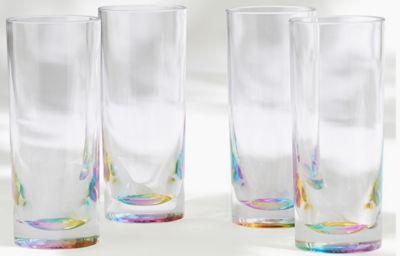 Set of 4 Rainbow Picnic Hi Balls