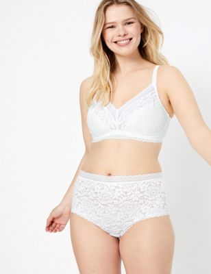 Non-Wired Full Cup Bralette Set with A-E