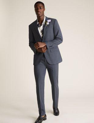 Airforce Blue Regular Fit Suit