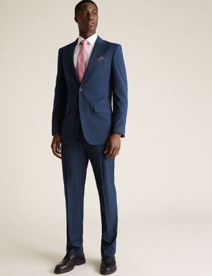 Regular Fit Suit with Stretch
