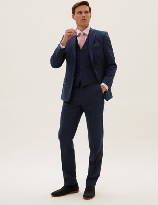 The Ultimate Navy Slim Fit 3 Piece Suit