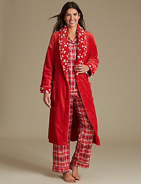 Dressing Gown with Pyjama Set, , catlanding