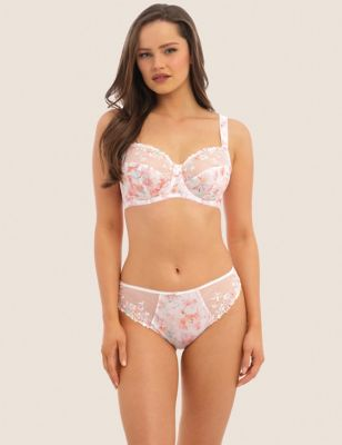 Thea Underwired Side Support Bra Set D-H