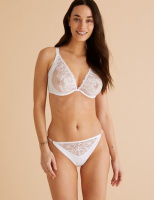 Embrace Underwired Plunge Bra Set A-E