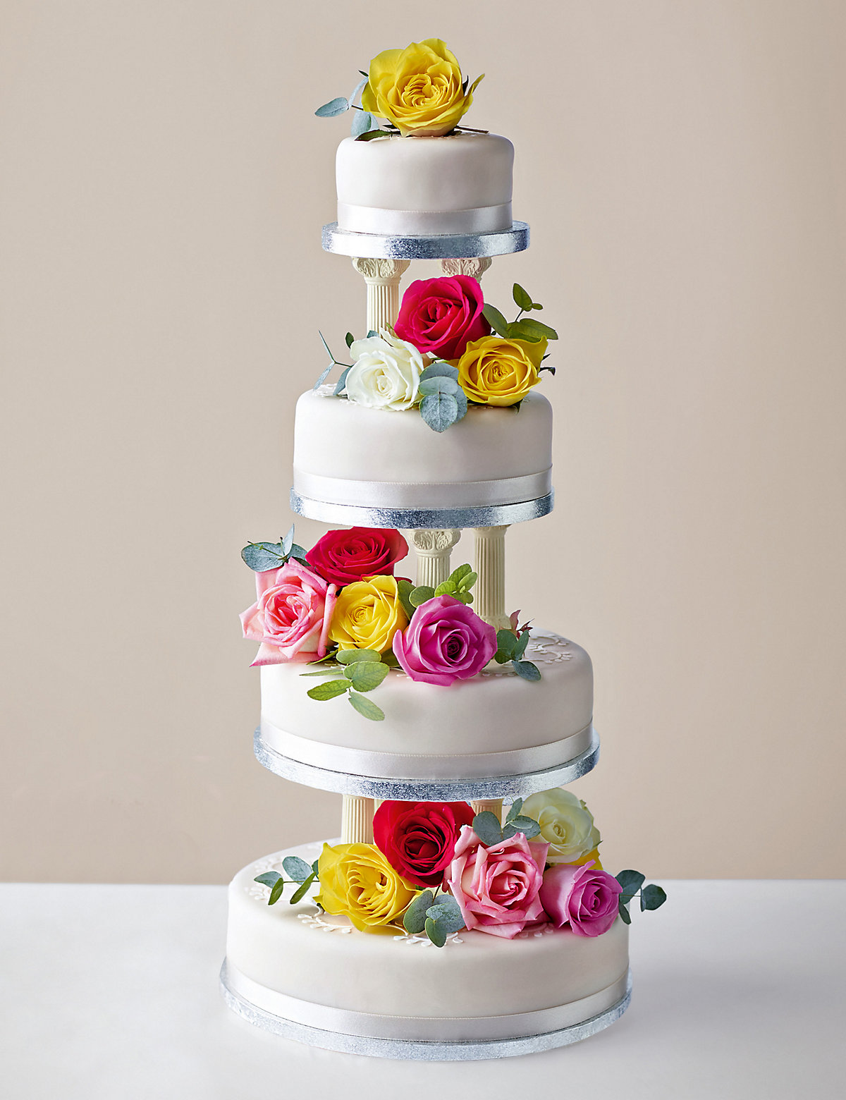 Build Your Own Traditional Wedding Cake Fruit Sponge Or Chocolate