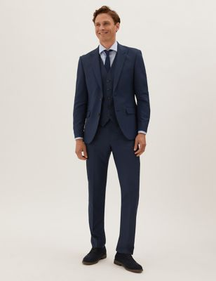 Tailored Fit with Stretch 3 piece Suit