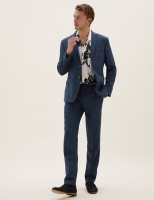 Tailored Fit Italian Linen Miracle™ Suit
