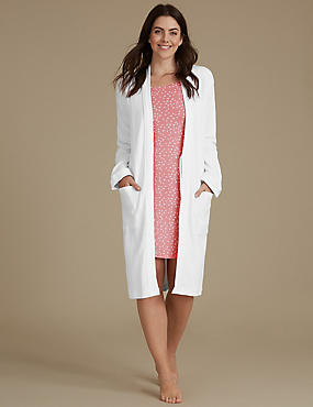 Nightdress Set with Dressing Gown, , catlanding