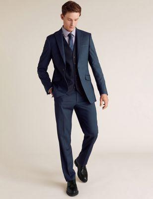 Tailored Fit 3 Piece Suit