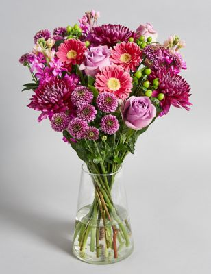 Scented Vibrant Spring Bouquet (Available for delivery from 28th December 2018)