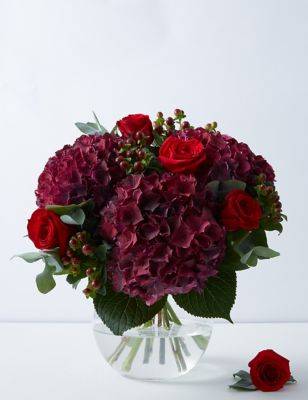 The Collection Hydrangea & Rose Bouquet