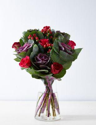 Rose & Brassica Bouquet