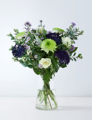 Sapphire Bouquet (Available for delivery from 10th September 2019)