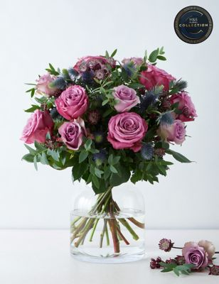 The Collection Purple Passion Bouquet