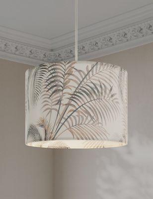 Palm Print Lamp Shade