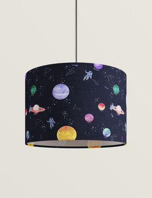 Space Print Lamp Shade