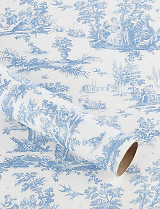 Toile scene gift wrap ms negle Image collections