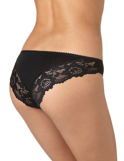 5 Pack Lace Brazilian Knickers | M&S