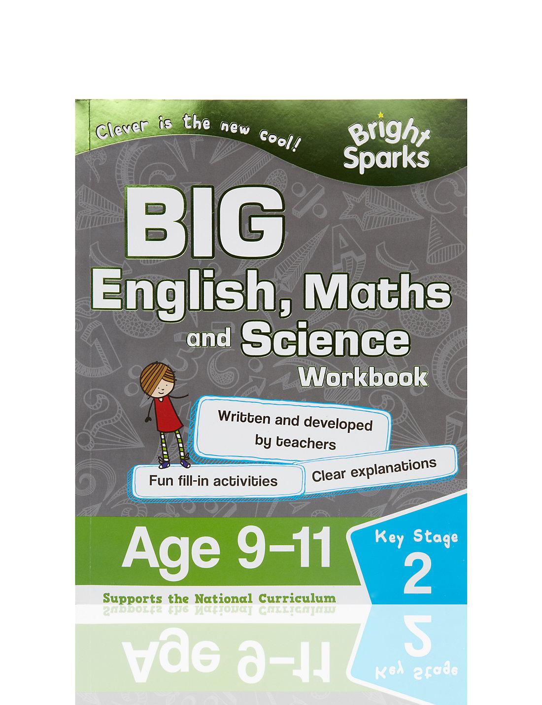 Workbooks key stage 2 workbooks : Bright Sparks Key Stage 2 Big English, Maths & Science Workbook | M&S