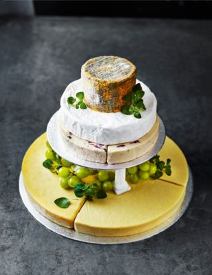 cheese wedding cake marks and spencer small cheese celebration cake m amp s 12599