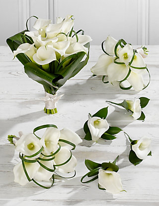 White Calla Lily Wedding Flowers