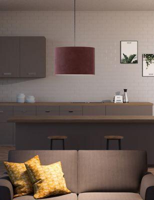 Velvet Lamp Shade