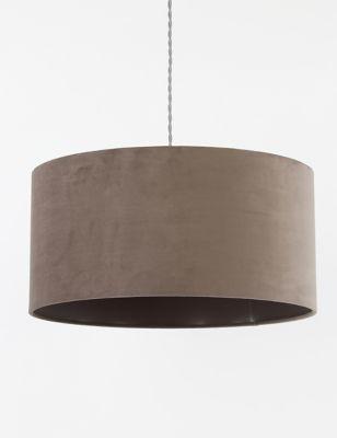 Velvet Oversized Ceiling Lamp Shade