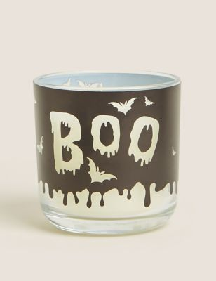Halloween Boo Colour Change Candle