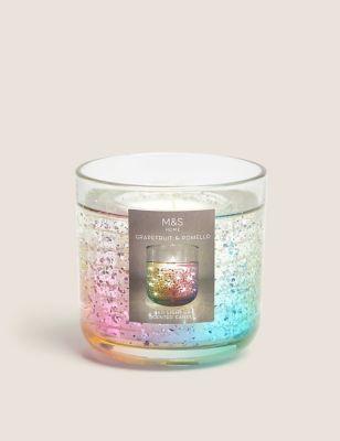 Rainbow Light Up Candle