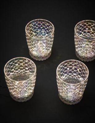 Set of 4 Light Up Tumblers