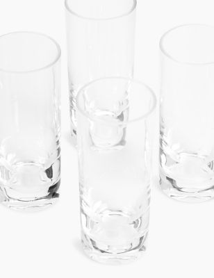 Set of 4 Picnic Highballs