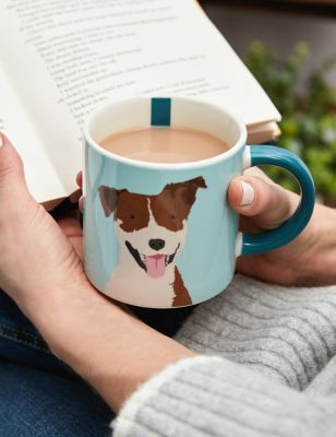 Joules Don't Fur-Get The Biscuits Mug
