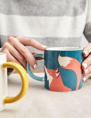 Joules Bright Eyed & Bushy Tailed Mug