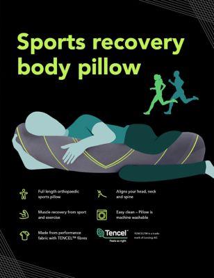 Sports Recovery Medium Body PIllow